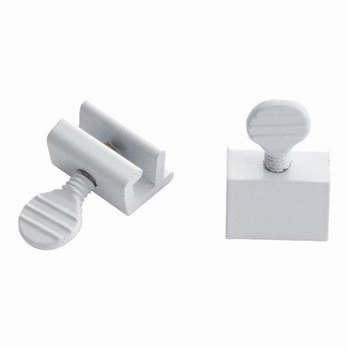 Window Slide Stop - 2 Pack in White (Set of 10) (Stop Window Slide)
