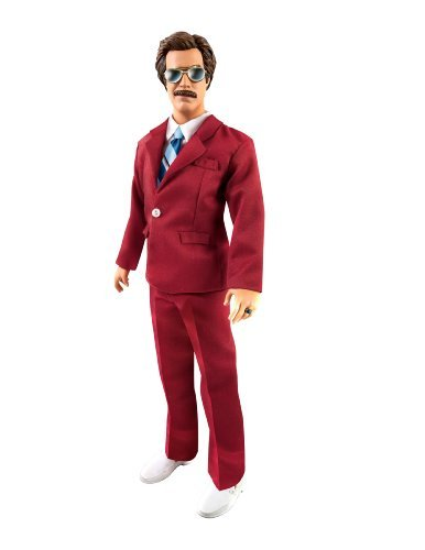 Talking Ron Burgundy 13 Inch Action Figure