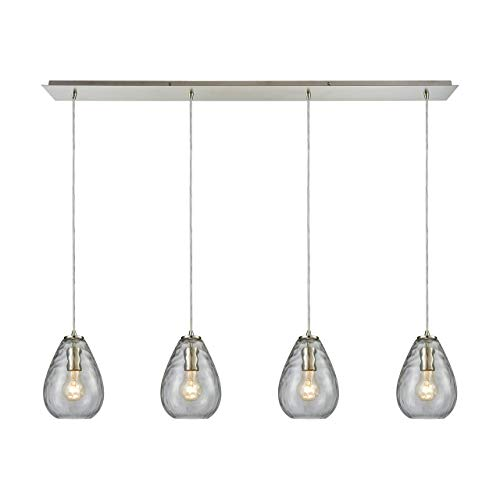Elk Lighting 10760/4LP Pendant Light Satin Nickel