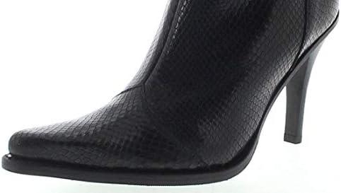 FB Fashion Boots Bravo Piton - Botines de Piel para Mujer, Color Negro vy2EcYlY