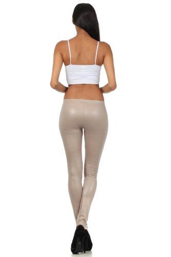 cc0c4f1d4b3af8 Sakkas Footless Ultra Slim Fit Matte Liquid Wet Look Leggings - Buy ...
