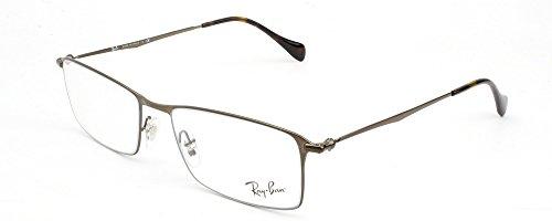 Ray Ban Optical Montures de lunettes RX6290 Shiny Black, 52mm 2786: Shiny Brown