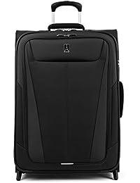 Maxlite 5-Softside Lightweight Expandable Upright Luggage, Black