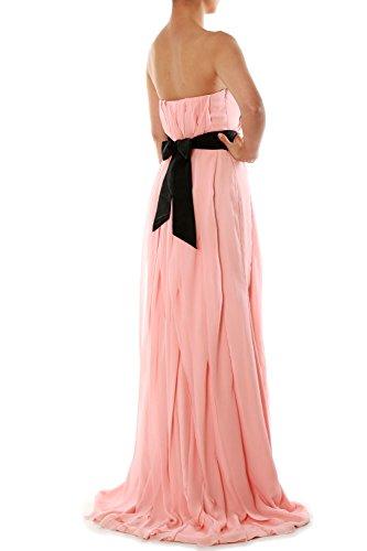 Donna Ivory linea Vestito maniche ad Senza a MACloth 5OYgzwq6W