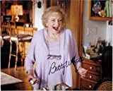 Signed White, Betty 8x10 Photo autographed