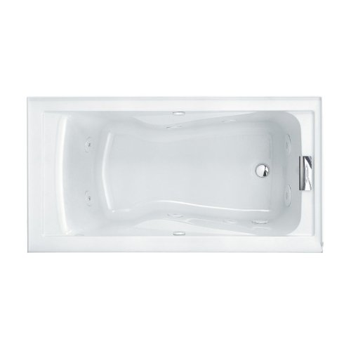 American Standard 2425V#RHO002.011 Evolution Soak Tub, 5-Feet by 32-Inch, Arctic White (American Standard Cast Iron Tub)