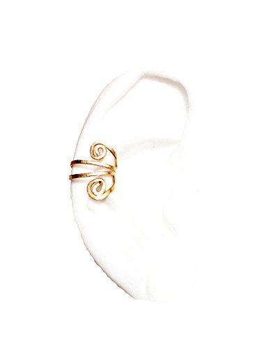 Lux - Handcrafted Gold Filled Wire Ear Cuff
