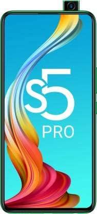 Infinix S5 Pro (X660C) 128GB + 6GB RAM ・グローバル版・SIMフリー ・日本語対応・Googleアプリ対応 ・Tripleカメラ+ Motorized pop-upセルフィーカメラ・4000mAhバッテリ ・6.53インチ (Green/グリーン)