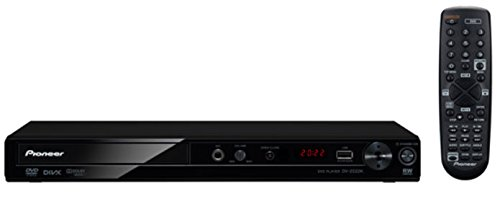Pioneer DV-2022K Compact DVD Player -for Region Free Multi System - Black by Pioneer