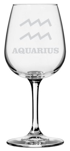 zodiac wine glass - 9