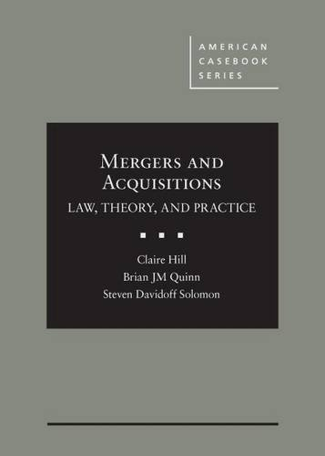 mergers-and-acquisitions-law-theory-and-practice-american-casebook-series