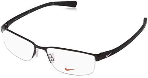 94acf89f68b02 Amazon.com  Eyeglasses NIKE 8098 010 BLACK WHITE  Sports   Outdoors