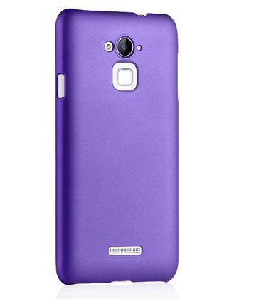 pretty nice 31530 d7334 ImagineDesign Wow Imagine Rubberised Matte Hard Case Back Cover for COOLPAD  Note 3 / COOLPAD Note 3 Plus - Purple