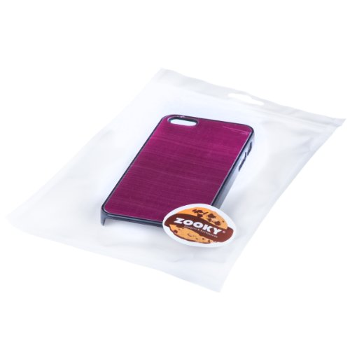 Zooky Rosa XTREME metallisch Hartplastik Schutzhülle / Hülle / Cover für Apple iPhone 5 / 5S