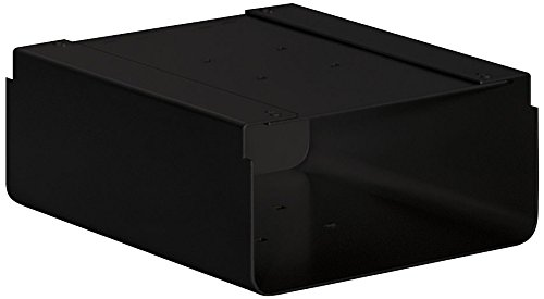 Salsbury Industries 4315BLK Newspaper Holder for Roadside Mailbox and Mail Chest, Black