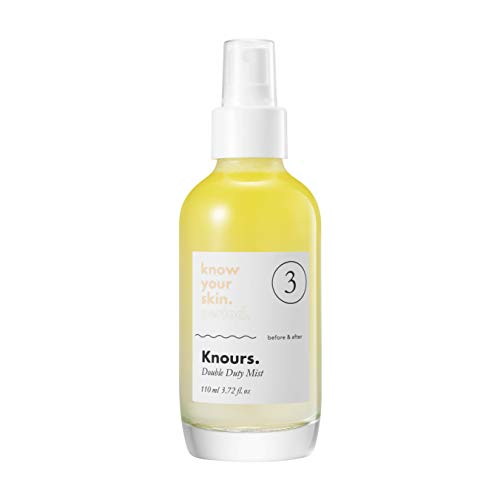 Knours. - Double Duty Mist | Soothing Nourishing Facial Mist EWG Verified Natural Ingredients Clean Beauty (110ml/3.72 fl oz.)… by KNOURS. KNOW YOUR SKIN. PERIOD. (Image #1)