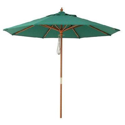 ガーデンパラソル マーケット2.1m(グリーン) UVカット95% B00SSXV8FC