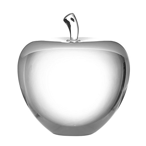 Apple Statue (Crystal Apple Paperweight with Luxury Gift Box - 3(inch)-Crystal Statues and figurines - Home decoration-Gift for lover home office lover)