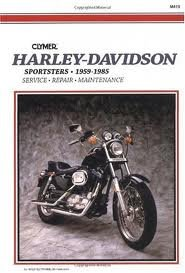 Sportster 1959 1985 Service Repair And Maintenance Book