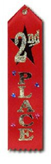 Award Ribbon 2nd by The Diploma Mill Diploma Mill Award Ribbon