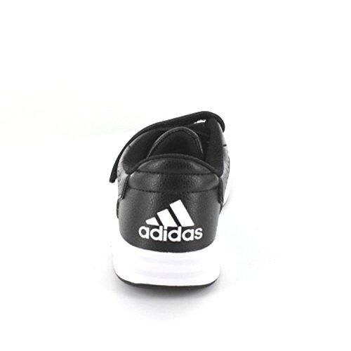adidas AltaSport CF K - Zapatillas de deportepara niños, Negro - (NEGBAS/FTWBLA/NEGBAS), -28