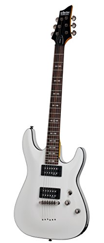Schecter OMEN-6 6-String Electric Guitar, Vintage White from Schecter