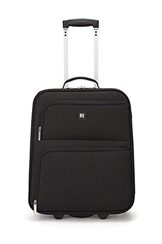 Revelation Suitcase Alex, 2 Wheel Spinner, Cabin, 50cm-32L, Black