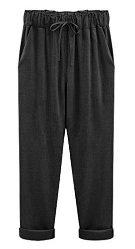 Linen Ankle Pants - 5
