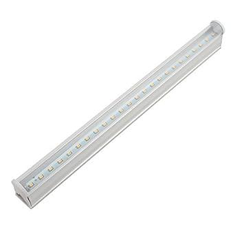 Tubo eDealMax CA 85-265V 4W T5 2835SMD LED integrado lámpara de luz Blanco cálido