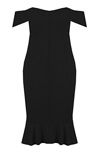 midi bandeau bodycon dress - 8