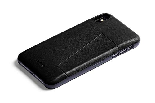 Bellroy Leather iPhone Xs Max Phone Case - 3 Card - Black