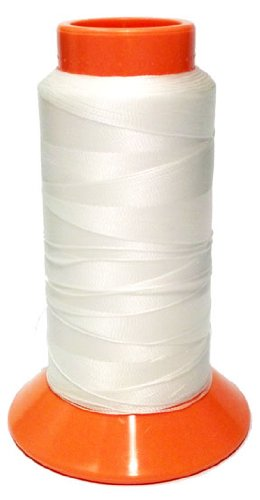 SolarActive Color Changing Embroidery Thread 1000(meter) Cone – White to Orange