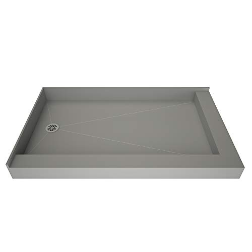 Tile Redi 3754LDR-PVC Redi Base Shower Pan, 54