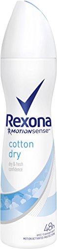 Rexona Deospray Cotton Dry Anti-Transpirant, 6er Pack (6x 150 ml)