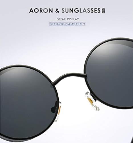 De Los Opcionales silverframesilver Ciclo UV400 Vidrios Protección Goldframepowder Las De De Ultravioleta Gafas Los Hombres Polarizaron Sol w4frz6xI4q