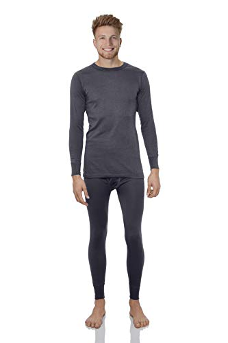 Rocky Thermal Underwear for Men Lightweight Cotton Knit Thermals Men
