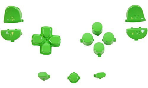 et Dpad Share Polished Green For PS4 Gen 1,2 V1 Controller ()