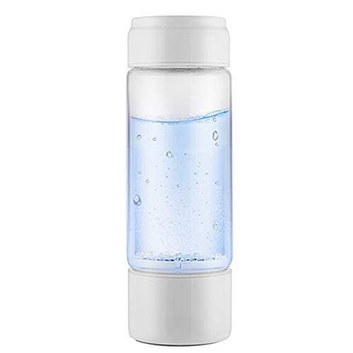 Hydrogen-Rich Hydrogen Cup Live Hydrogen Power Generator Portable Health Negative Ion Cup USB Charging 360ml B-11.21