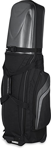 3 Golf Bag Travel Cover (Bag Boy Golf T-10 Hard Top Travel Cover (Black/Charcoal, ))