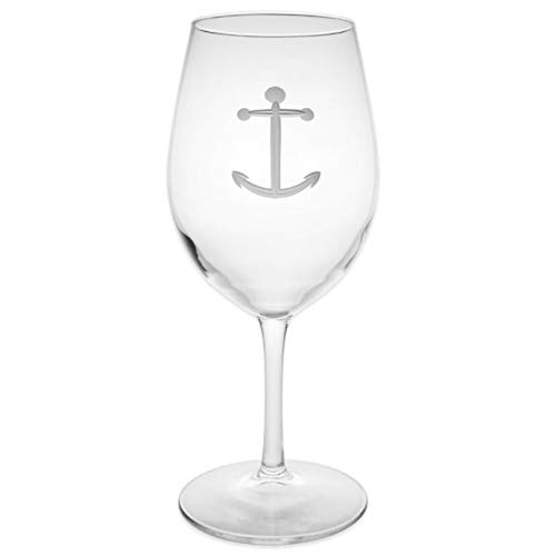 Beauty Of The Ocean Anchor All-Purpose Wine Glass