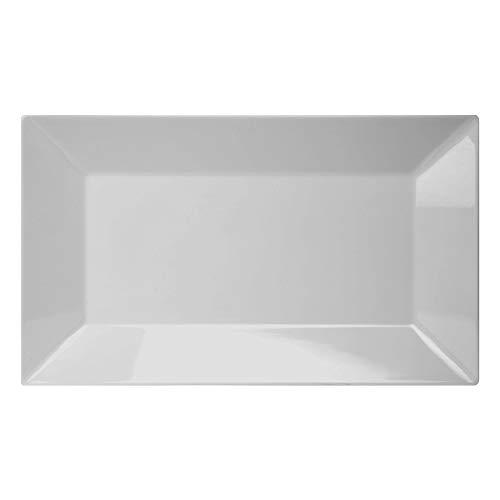 Retangular Gourmet Mix Branco 35 5x20 3Cm
