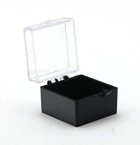 Clear Hinged Plastic Box 1