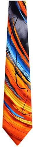 JG-7035 - Jerry Garcia Mens Fashion Designer Brand Silk Necktie Ties -