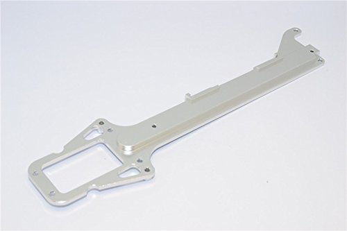 Traxxas LaTrax SST Upgrade Parts Aluminum Upper Chassis Plate - 1Pc Silver