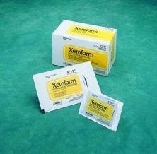 Xeroform Petrolatum Gauze Dressing - Case Of 6, 2'' x 2'', Patch