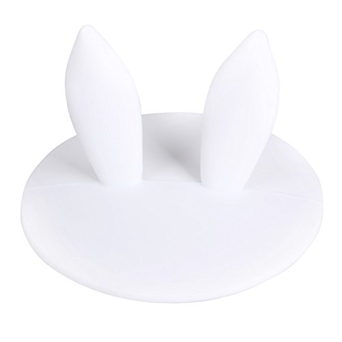 Best Quality - Coffee Cups & Mugs - Reusable Silicone Rabbit Ear Dustproof Cover Coffe Cup Lid Thermal Insulation Cup Cover Seal Cover Drinking Cup Accessories - by ()