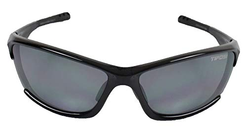 (Tifosi Ventoux T-IP300 Sunglasses,Gloss Black Frame/Grey Lens,one size)