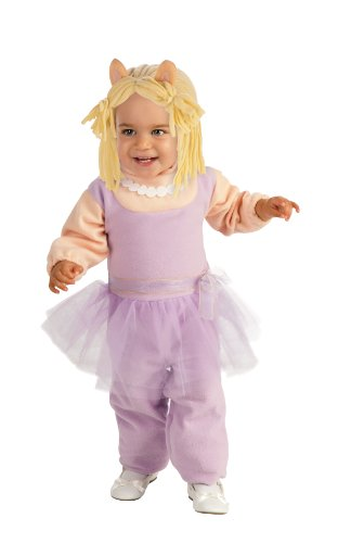 Miss Piggy Costumes For Toddlers (Muppets Ez-On Miss Piggy Romper, Pink, Toddler Costume)