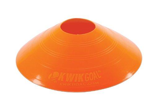 Kwik Goal Disc Cone , Orange (Pack of 25)