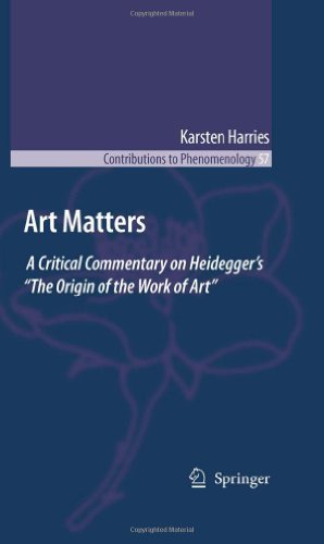 Download Art Matters: 57 (Contributions to Phenomenology) Pdf